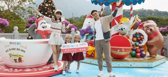 "Ngong Ping 360 joins forces with We Bare Bears to present:  ""We Bare Bears Holiday Hangout – Christmas Festivities"""