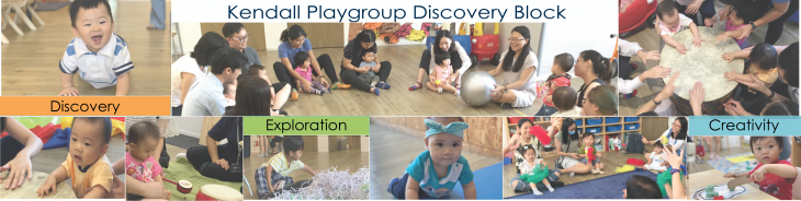 Kendall Discovery Block 1 - Playgroup - Starter (10 to 18 months)