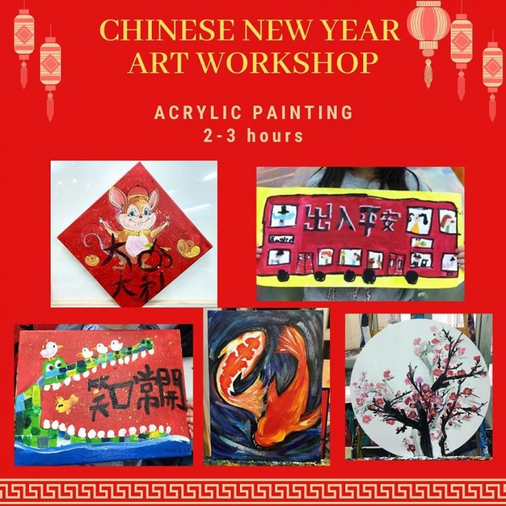 Chinese New Year Art Workshop 2020