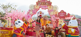 Ngong Ping 360 x We Bare Bears bring luck and prosperity