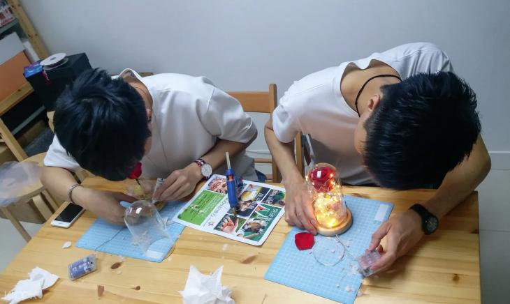 Rose Light DIY Experience in San Po Kong