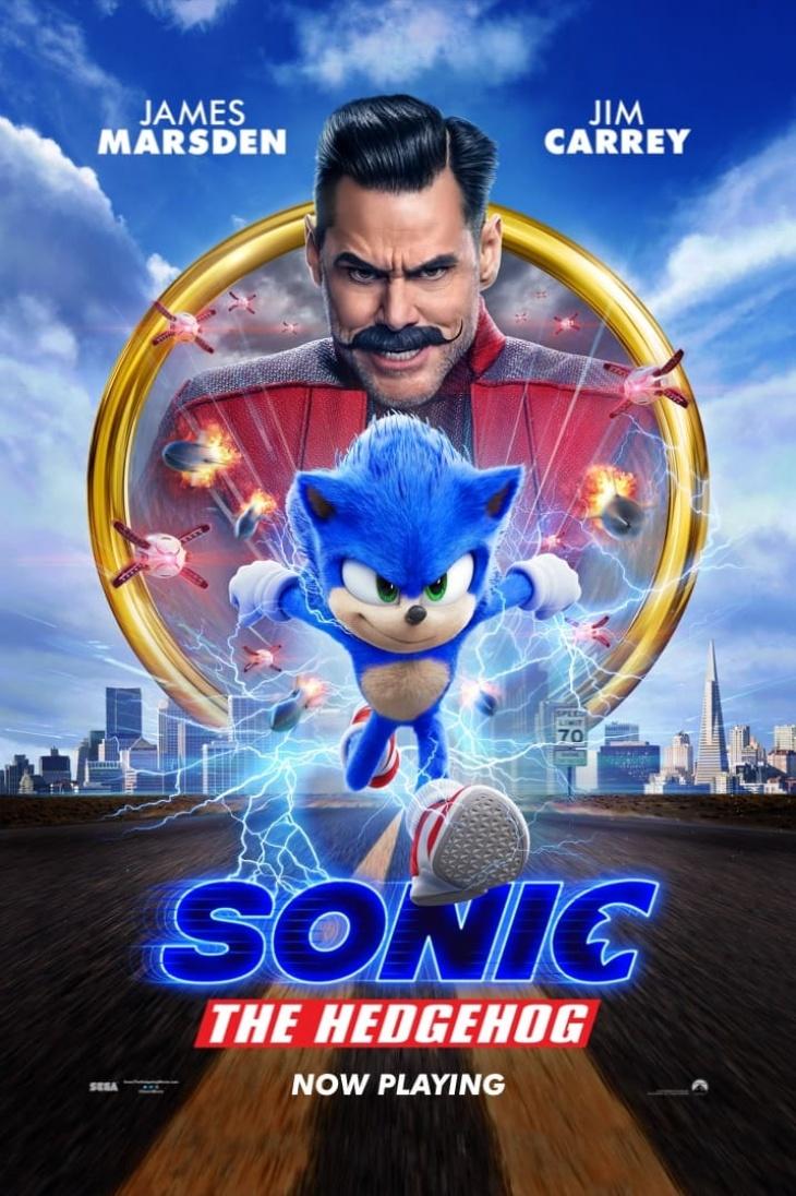 Sonic The Hedgehog @ Cinema City