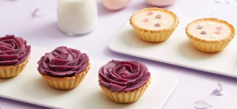 (Parent - Child Class) Purple Yam Rose Tart and Milk Tart
