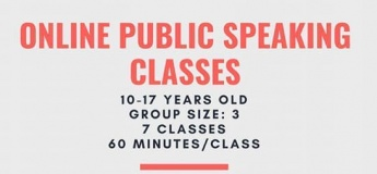 Online public speaking classes