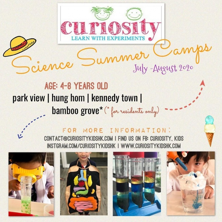 Curiosity Science Summer Camps 2020