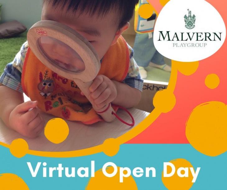 Malvern Playgroup Virtual Open Day