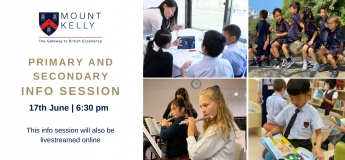 Primary and Secondary Info Session