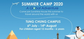 Sunshine House Summer Camp 2020: A Global Adventure