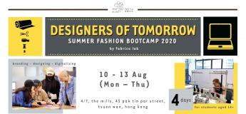 Designers of Tomorrow – Summer Fashion Bootcamp 2020