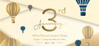3rd Anniversary of Pacific Place's Loyalty Programme 'above' ! Let's join and get over HK$3,300 welcome offers!