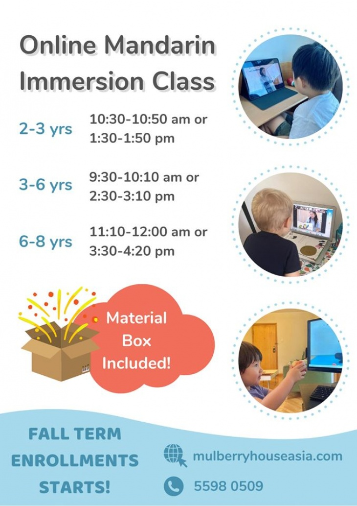 Online Mandarin Immersion Class