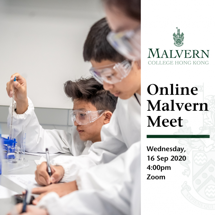 Online Malvern Meet- Information Session