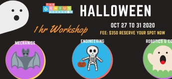 Halloween Themed 1-hr STEM Workshops