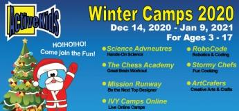 ActiveKids Winter Camps 2020