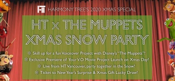 HT The Muppets Xmas Snow Party