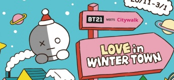 BT21 MEETS Citywalk - LOVE in Winter Town
