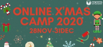Online Science X'mas Camp 2020 with Big Bang Academy
