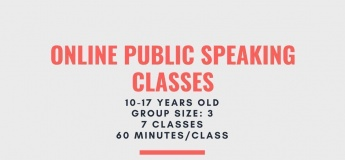 Online Public Speaking Christmas Camp
