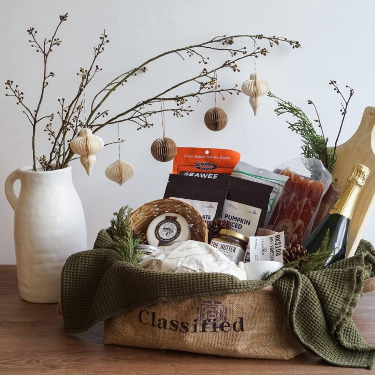 Cheese & Wine Gift Hampers