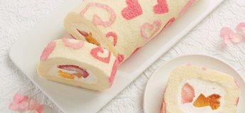 (Parent-child Class) Mixed Fruit & Yoghurt Cream Cake Roll