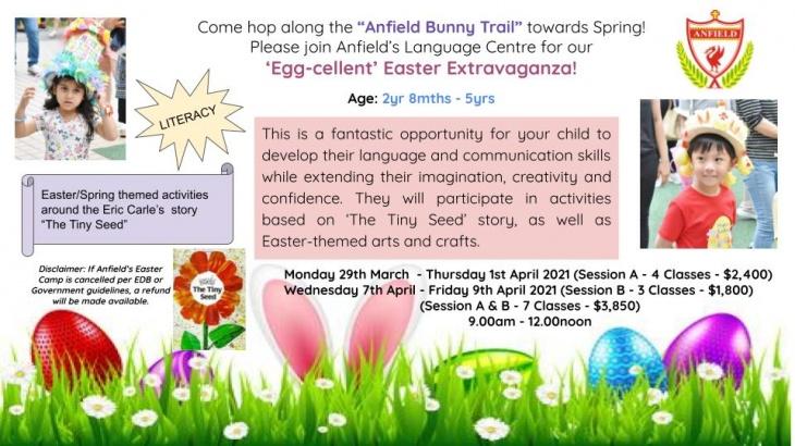 Easter Camp 2021 @Anfield International Kindergarten & Nursery