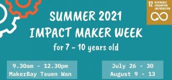 Summer 2021 – 7-10yo – Impact Maker Week