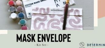Mask Envelope Painting Kit Set