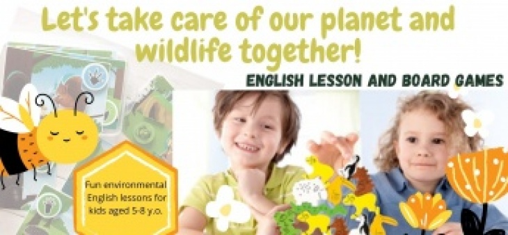 Let's take care of our planet & wildlife together-English lesson&board games