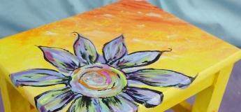 Stool Painting