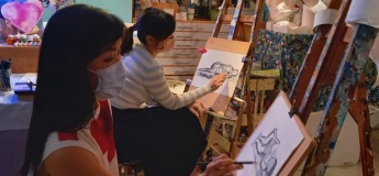 Life Model Drawing Session for adults