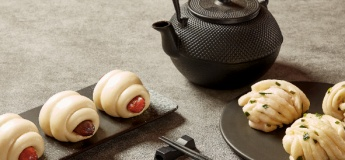 Chinese Sausage Rolls and Scallion Buns