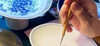 Peony Porcelain Painting Class