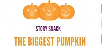Story Snack - Mini Spooktacular Pumpkin Pie