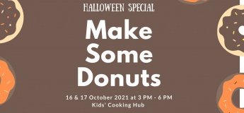 Halloween Special ~ Make Some Donuts