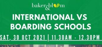 International VS Boarding Schools