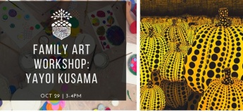 Yayoi Kusama Family Art Workshop