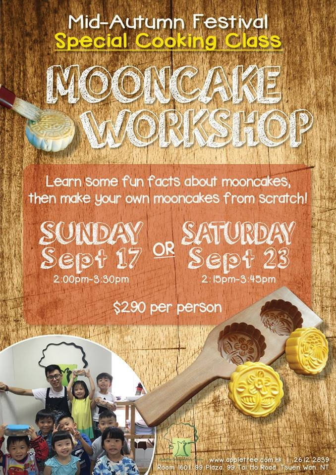Mid-Autumn Festival Special Cooking Class: Mooncake Workshop
