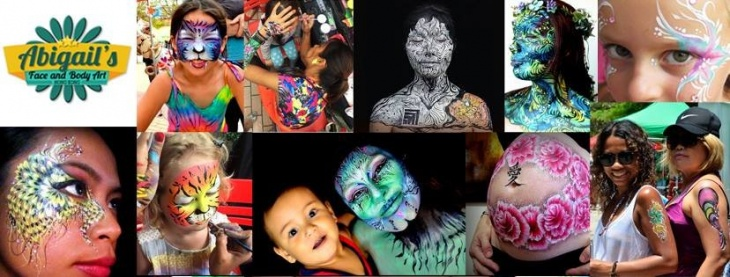Abigail's Face and Body Art