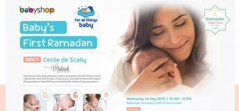 Babyshop Coffee Morning - Baby's First Ramadan