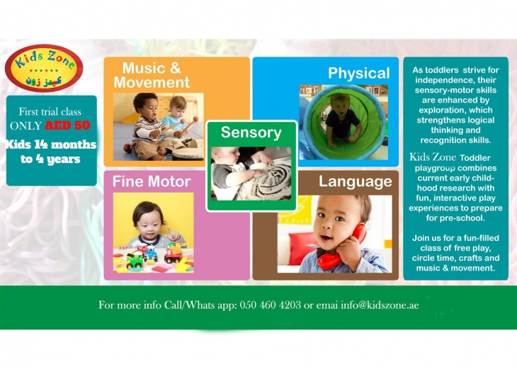 Toddler Playgroup-9am to 1pm
