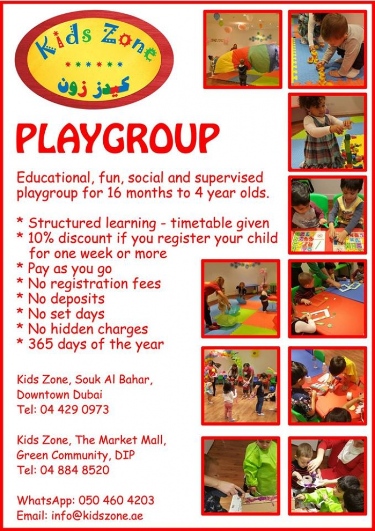 Toddler Playgroup @ Kids Zone Souk Al Bahar