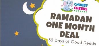 Ramadan Fun for Little Ones: 30 Days of Good Deeds @ Chubby Cheeks Nursery