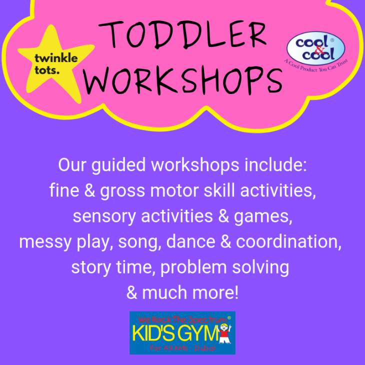 NEW TWINKLE TOTS WORKSHOP