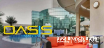 Saturday BBQ Brunch Buffet | Oasis Pool & bar