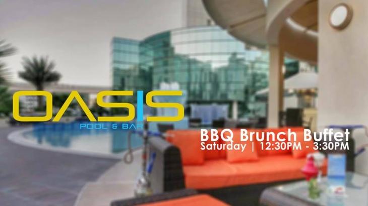 Saturday BBQ Brunch Buffet | Oasis Pool & bar