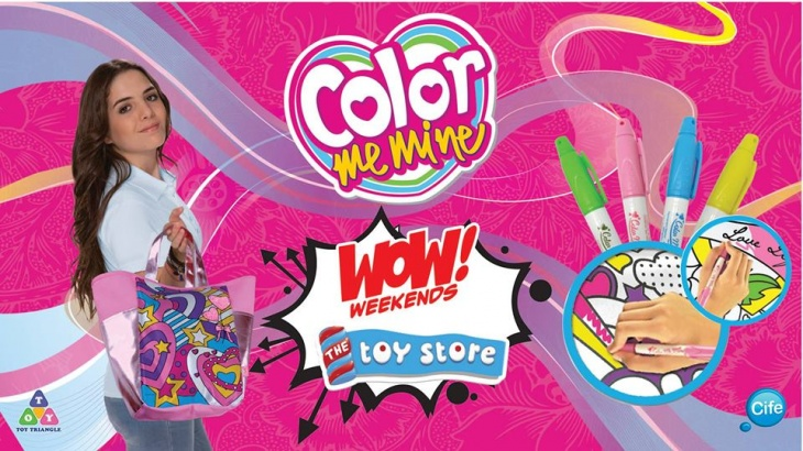 Color Me Mine @ The Toy Store Me
