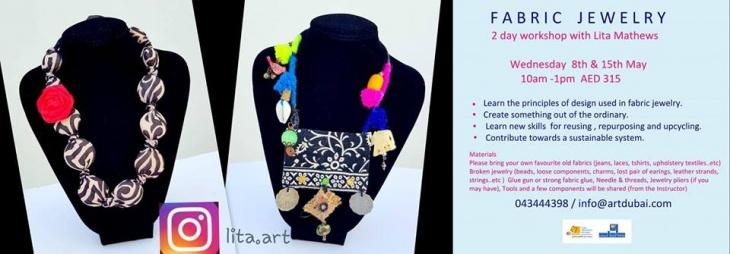Fabric Jewellery Workshop
