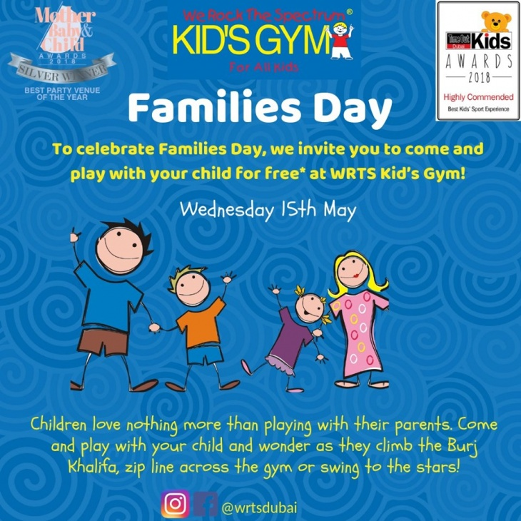 Families Day @ We Rock The Spectrum