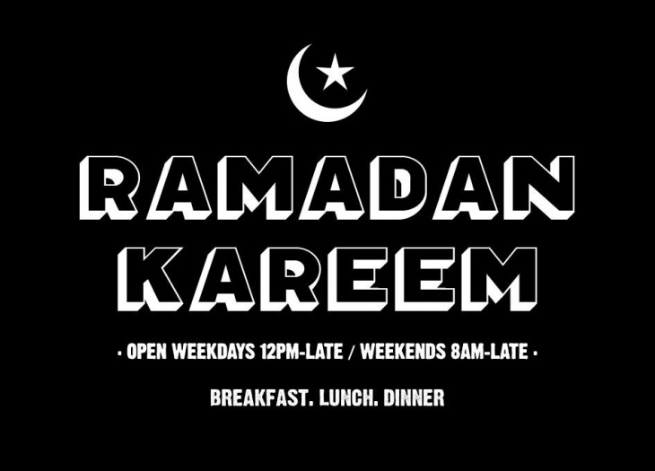 Ramadan at The Sportsman's Arms