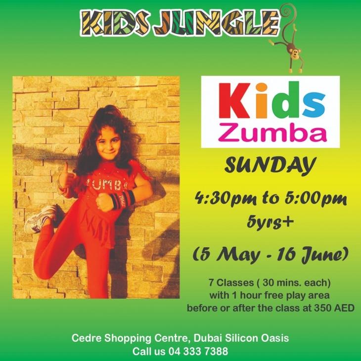 Kids Zumba @ Kids Jungle